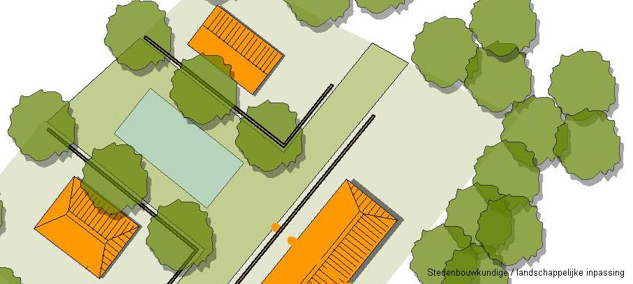 Stedenbouwkundig / landschappelijke inpassing