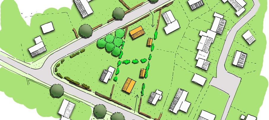 Een stedenbouwkundige landschappelijke inpassing