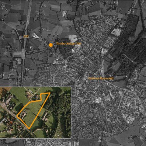 luchtfoto met plangebied