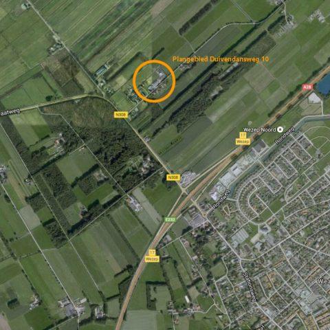 Bestemmingsplanherziening Wezep, locatie