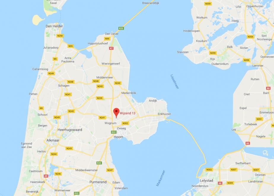 Locatie Nibbixwoud